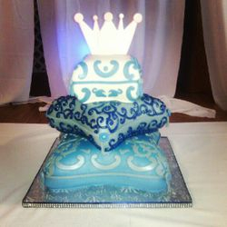 Moroccan Pillow Cake for Babyshower