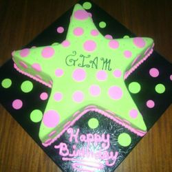 Glam Star Cake
