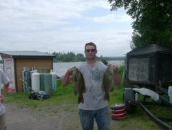 Luc with a couple nice ones