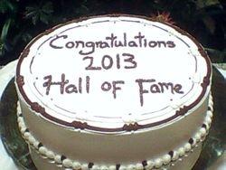 HOF Cake