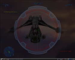 Picture of the gunship