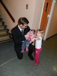 Mr.Roberts, Ava and Molly