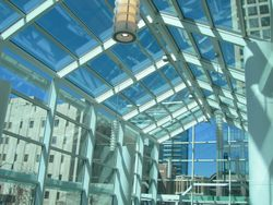 Social Hall Museum LED lighting