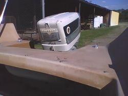 '58 Custom Craft 'SeaRay' w/ '58 Evinrude Lark