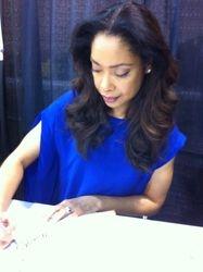 Gina Torres Signing Serenity Graphic Novel