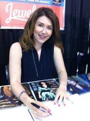Jewel Staite Signing Serenity Graphic Novel