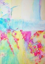 """Eternal Blossom"" Wt/col21cm x 30cm"