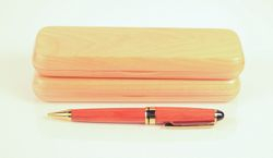 Euro ball point pen, Cherry
