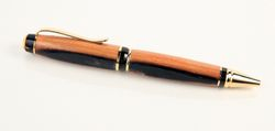 Pen made from Jack Daniel's whiskey aging barrels, Cigar style