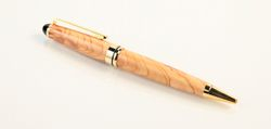 Euro style Olive Wood ball point pen