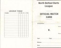 North Belfast Darts League