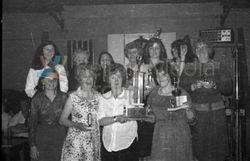 North Belfast Ladies Darts League function. Markets Social Club 1979