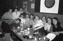 North Belfast Ladies' Darts League Competition in Saunders Club
