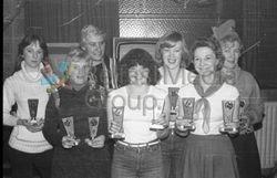 McLaughlin's Bar Ladies Darts Team 1979