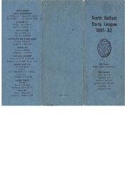 1981-1982 Fixtures Booklet