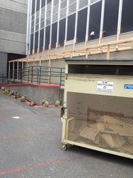 Framing of Temporary Shelter
