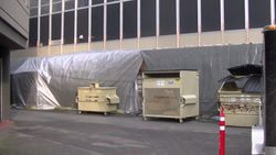 Temporary Weather Work Shelter