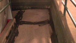 Sample of Existing Tar To Be Removed