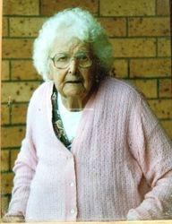 Violet Everingham, wife of Hiram Duck