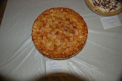 "2nd Place ""Apple Amaretto Custard Pie"""