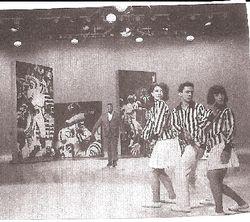 Pre-Chorus Line Donna McKechnie and Michael Bennet