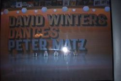 Music Director, Peter Matz composed music for David?s solos