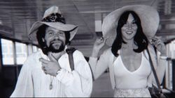 David Winters and his then girlfriend, Linda Lovelace