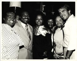Billy Preston (second from left)Diana Ross (center) David Winters (second from right) and a few of their friends after a Billy Preston concert, for which David was Diana?s guest.
