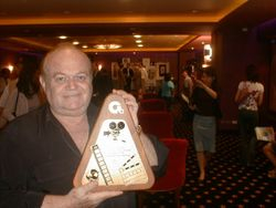 "David Winters with ""Audience Award for Best Picture"", Bangkok Film Festival,"