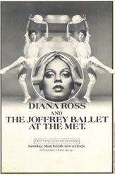 Program for when Diana danced again with the Joffrey Ballet Company for President Reagan