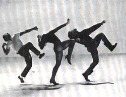 David?s favorite dance picture, Jaime Rogers, Joey Heatherton and David