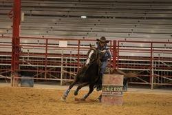 Trainer- Gina Warren on Horse King