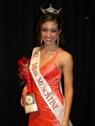 Miss Muscatine 2011 Jessica Pray