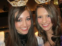 Jessica with pageant sister Brooklyn