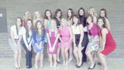 Miss Iowa Contestants