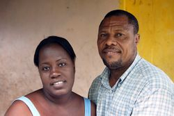 Pastor Altesse and Huguette