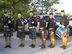 51st Division Pipes and Drums2