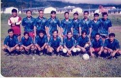 KUK football team Belaga.