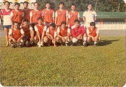 OUNA football team Kapit. menu' dite ire.