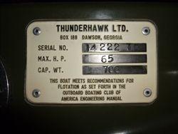 7. 1970 Thunderhawk 1400