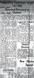 Mansfield Advertiser Dec 1950