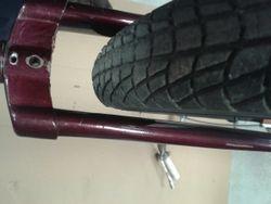 BMX Tyre Clearance