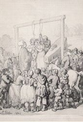 A Hanging, 1803.