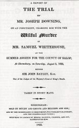 Murder Poster. 1822