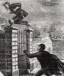 Spring Heeled Jack. 1837.