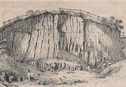The Pearl Quarry. 1830s.