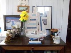 Vintage looking sail boat