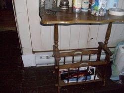 Vintage looking side table