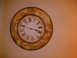 Vintage looking clock SOLD