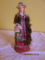 Vintage look figure ornamentSOLD